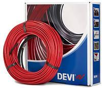 Кабельный электрический теплый пол DEVIflex 18T 20м2