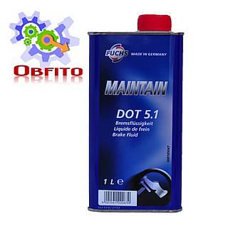 """Тормозная жидкость """"Fuchs Maintain DOT 5.1"""", 1л"""