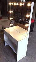 Стол для визажиста (макияжа) гримерный с подсветкой V106