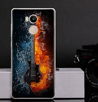 Оригинальный чехол бампер для Xiaomi Redmi 4 Pro / Redmi 4 Prime с картинкой Гитара