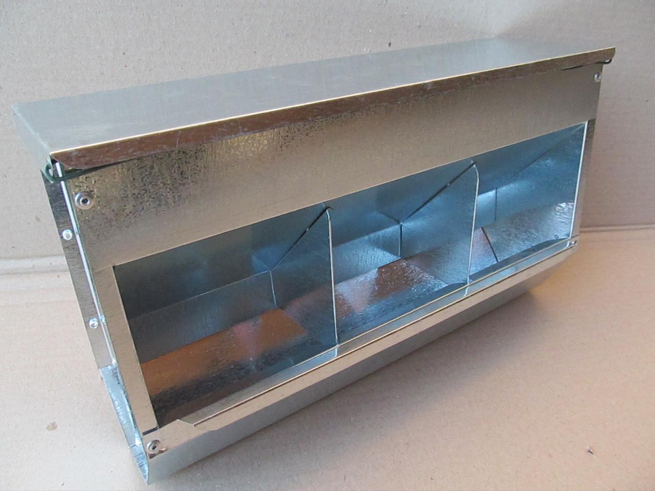 Бункерна годівниця для кроликів. БК3-3