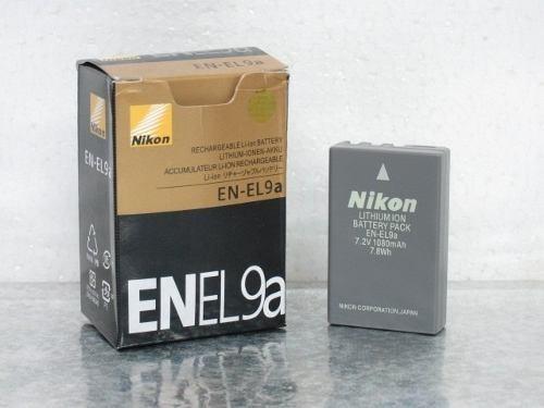 Dilux - Nikon EN-EL9a 7.2V 1080mah Li-ion  аккумуляторная батарея к фотокамере