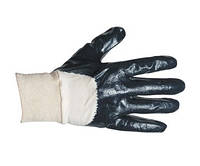 Перчатки рабочие с частичным нитриловым покрытием (Чехия), фото 1