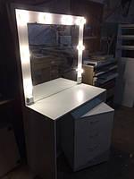 Стол для визажиста (макияжа) гримерный с подсветкой V108