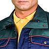 Куртка рабочая прочная мужская темно-синяя REIS Польша (рабочая униформа) BF GS, фото 3