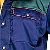 Куртка рабочая прочная мужская темно-синяя REIS Польша (рабочая униформа) BF GS, фото 5