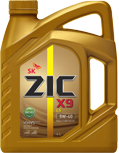 Масло моторное ZIC X9 LS 5W-40 Diesel  4л