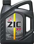 Масло моторное Zic X7 LS  (ранее было A+)  5w-30   6л