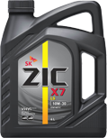 Масло моторное Zic X7 LS (ранее было A+) 10w-40 6л