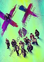 Картина 40х60 см Отряд Самоубийц Постер