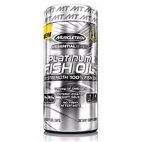 Рыбий жир MuscleTech Platinum 100% Fish Oil 100 капсул
