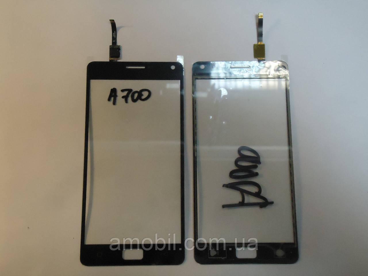 Сенсор Lenovo A700 Black чип Goodix orig