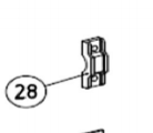 Скоба крепежная AN-MOTORS ASW.4028
