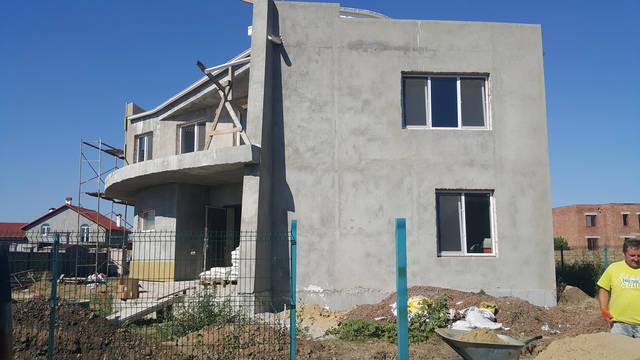 Дизайн фасада частного дома в с. Санжейка 4
