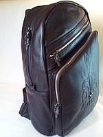 Рюкзак коричневый эко-кожа