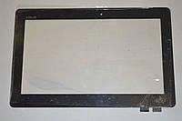 Оригинальный тачскрин / сенсор (сенсорное стекло) Asus Transformer Book T100 T100T T100TA (черный, самоклейка)