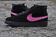 Кроссовки женские Nike Blazer с мехом