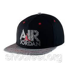 Бейсболка Air Jordan Stencil Snapback 707249-010