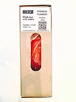 PLA Красный 1,75мм пруток (филамент) для  3D Herz