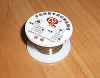 Молибденовая струна 100м 0.08мм золотая, для снятия сенсора стекла