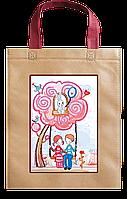 Набор-сумка для вышивки бисером «Качельки»