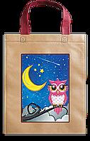 Набор-сумка для вышивки бисером «Сова и луна»