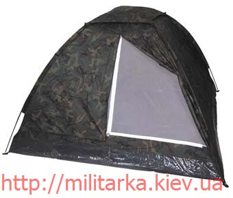 Палатка 3-х местная MFH вудланд