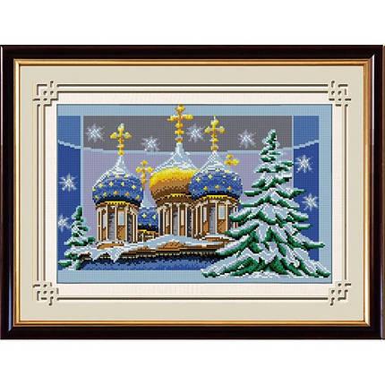 """Набор алмазной живописи """"Рождественские купола"""", фото 2"""