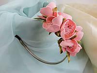 Ободк с цветом яблони