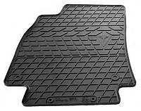 Резиновый водительский коврик для Audi A4 (B8) 2007-2015 (STINGRAY)
