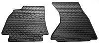 Резиновые передние коврики для Audi A4 (B8) 2007-2015 (STINGRAY)
