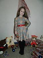 Красивое детское платье БАРБАРИ с пояском