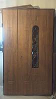Входная дверь с ковкой БРОНИРОВАННЫЕ в частный дом БЕСПЛАТНАЯ ДОСТАВКА, двери входные 1,20 на 2,05, фото 1