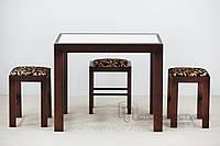 Обеденная группа  стол Фаворит-01+4 табурета 02м