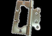 Дверная петля бабочка Mongoose 100*63*2-2мм PB