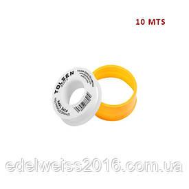 Лента уплотнительная для труб 12мм*0,075мм*10м*0,35г/см3