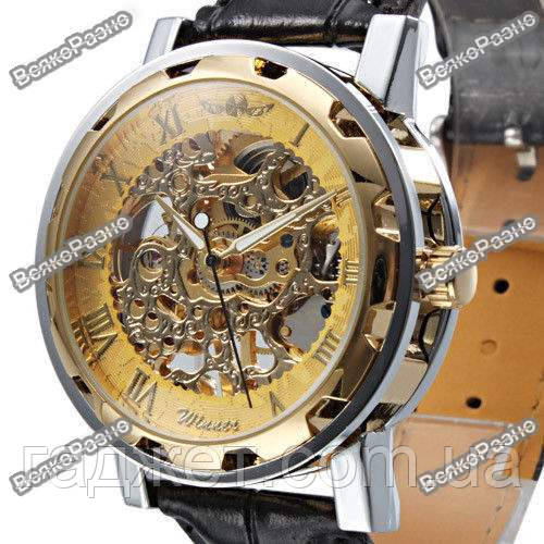 Мужские механические часы Winner Skeleton Hand Wind