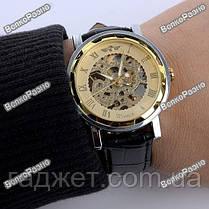 Мужские механические часы Winner Skeleton Hand Wind, фото 3