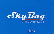 Дисконтная карточка SkyBag клуба