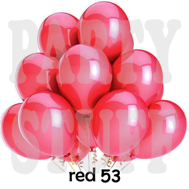 Шарики надувные Gemar GM90 Красный металлик