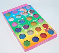 Набор декор бульон 24 штуки цветной
