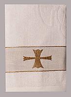 Крестильное полотенце (крыжма)  70х130. Модель FA-98