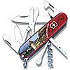 Нож швейцарский Victorinox Swiss Army Luzern красный