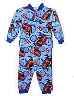 Пижама махровая для мальчика 1-7 лет McQueen