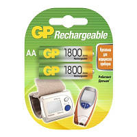 Аккумуляторная батарея GP AA R06-2BL NiMh (1800 mAh)