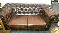 Кожаный диван/софа Честерфилд двойка. Кожаный диван Chester, цена