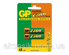 Аккумуляторная батарея GP AA R06-2BL NiMh (2300 mAh)