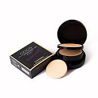 Компактная двойная пудра для лица Chanel Coco pressed powder