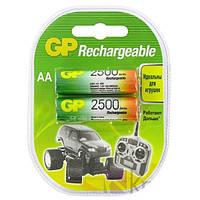 Аккумуляторная батарея GP AA R06-2BL NiMh (2500 mAh)