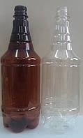 Пластиковые бутылки 1 л для любых напитков